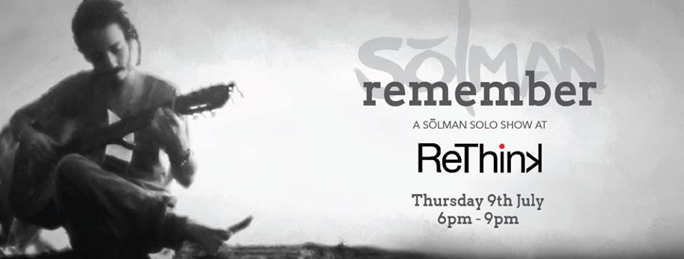 Solman hosts first Solo Concert at ReThink