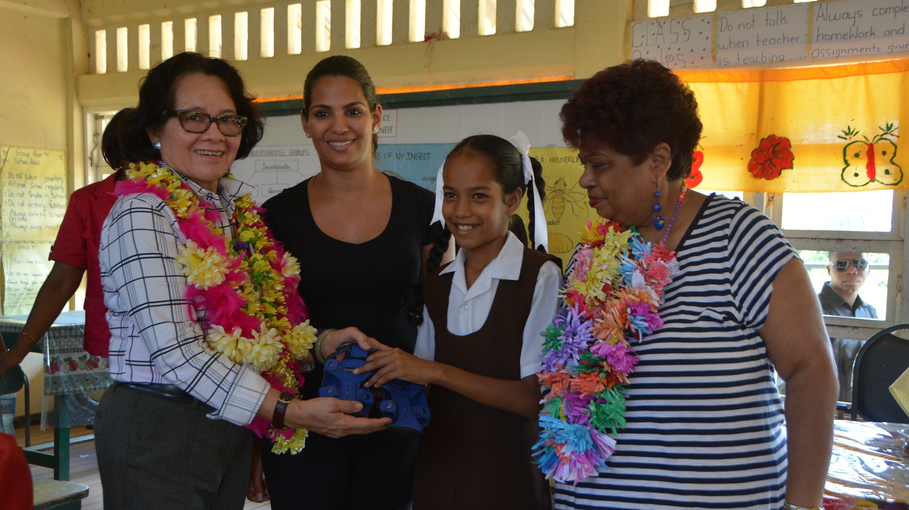 ReThink's Kind Soles Project Distributes Shoes to Hundreds of Students in Guyana