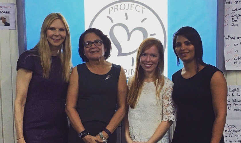 Project Happiness Training Takes Place in Guyana